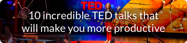 10 incredible TED talks that will make you more productive