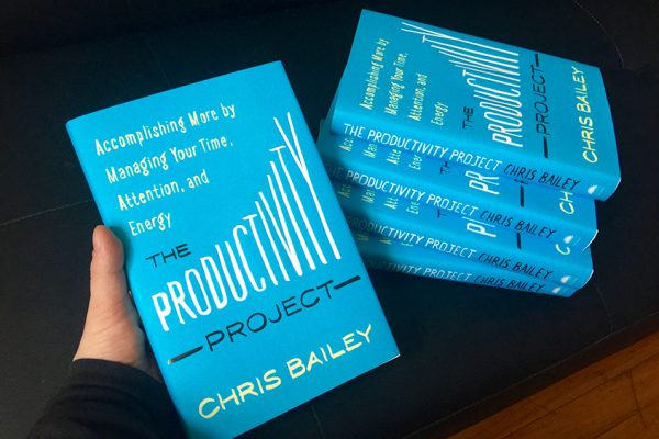 Read an excerpt from The Productivity Project!