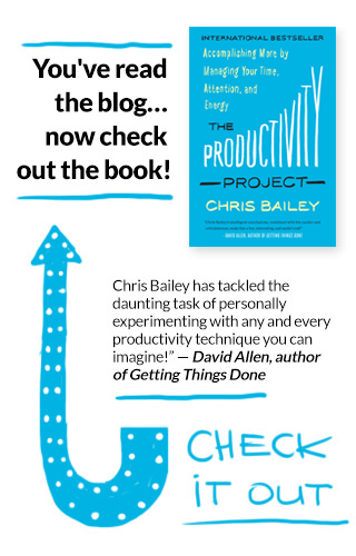 The Productivity Project Book