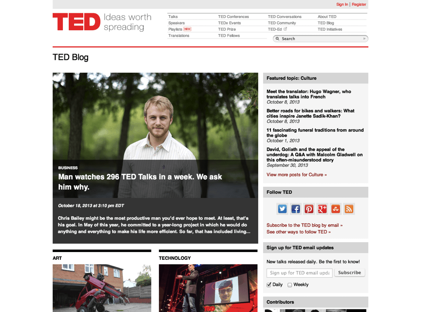 Check It Out: AYOP featured on the official TED blog!