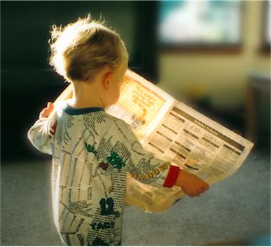 babyreadingpaper