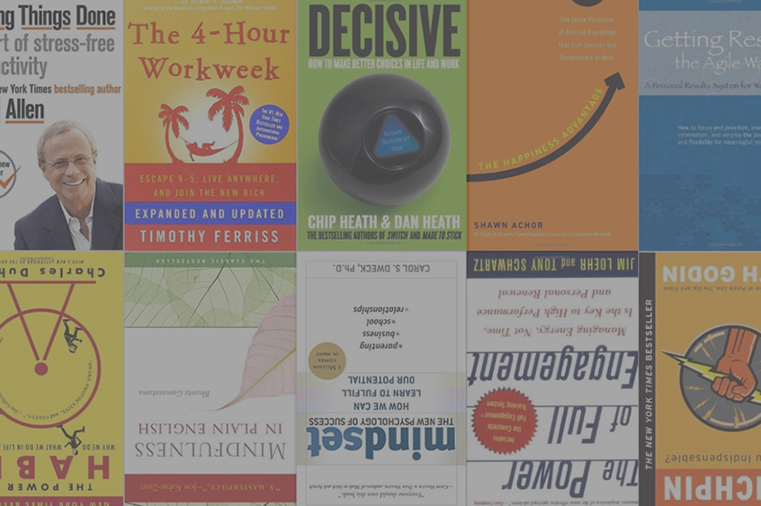 The 10 best productivity books out there | A Life of