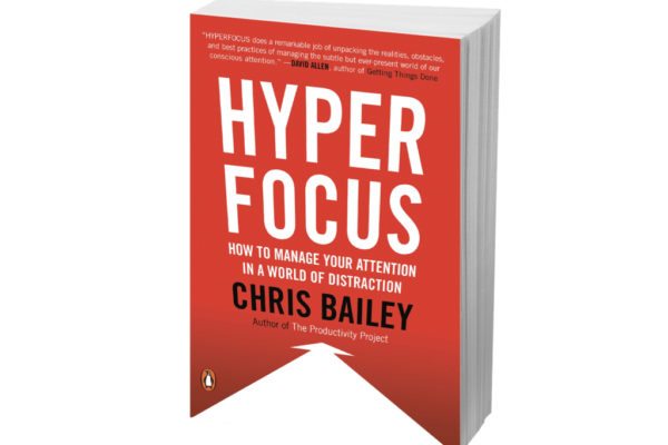 Hyperfocus comes out in paperback TODAY! 🎉