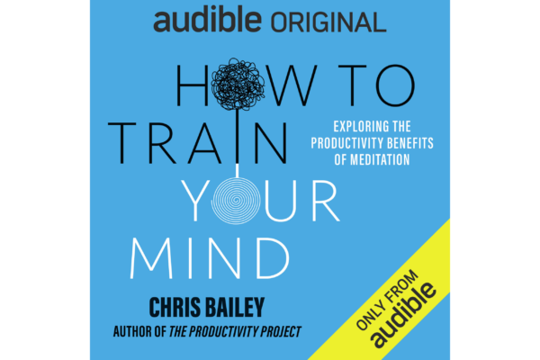 Surprise! My Audible Original on meditation is out now!